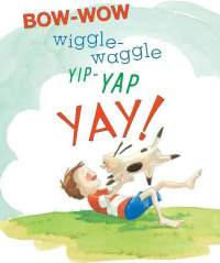 illustration from Bow-Wow Wiggle-Waggle by Mary Newell DePalma