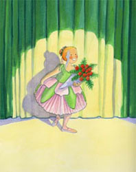 Illustration from the Nutcracker Doll by Mary Newell DePalma