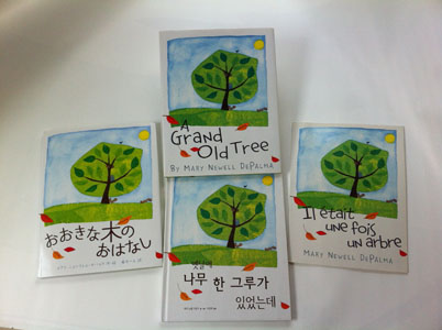 Foreign editions of A Grand Old Tree
